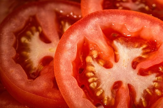 The tomato is a super-food full of antioxidants, vitamins, and nutrients to keep your skin glowing and young looking.