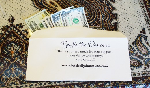 If you feel like tipping the dancers at our on line hafla, please consider making a donation to your favorite, local charity !