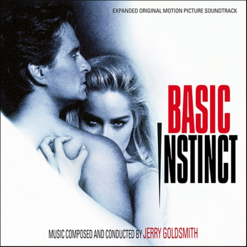 "Michael Douglas and Sharon Stone in Paul Verhoeven's ""Basic Instinct."""
