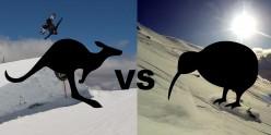 Ski Resorts - New Zealand vs Australia