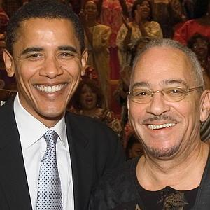Obama with Rev. Jerimiah Wright