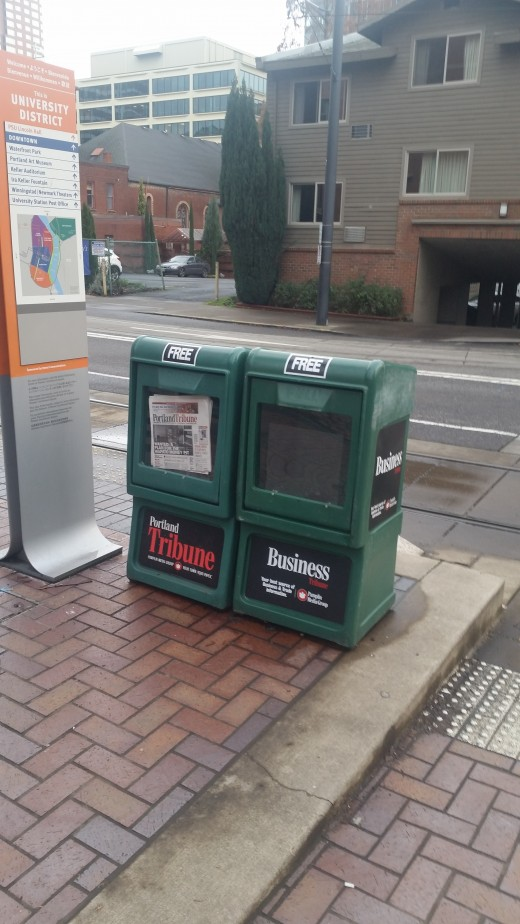free newspapers in Portland, Oregon