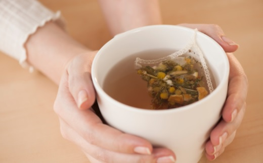 Chamomile tea has a calming effect on body.