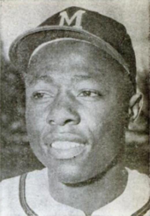 Hank Aaron in 1960