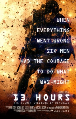 13 Hours a film about the attack on the Benghazi Embassy