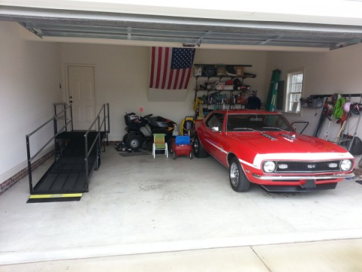 Accessible garage