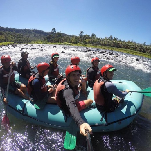 Whitewater rafting in Cagayan de Oro City, Northern Mindanao