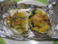 Happy Wife Happy Life Cook Book - Stuffed Oysters