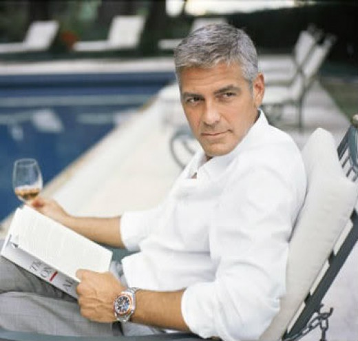 Greyness Never Stopped George Clooney.