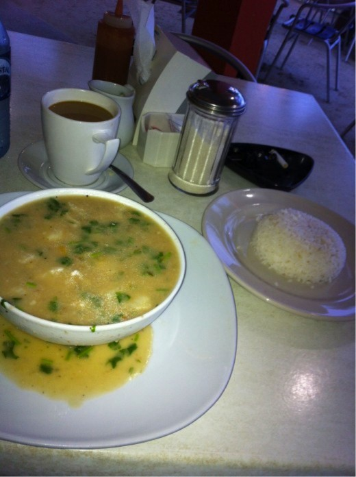 Chowder - type - pho - soup - stuff