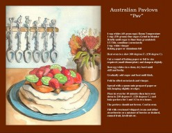 Pavlova, Australia and New Zealand's Favorite Dessert