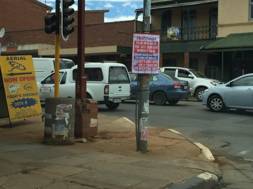 Street in South Africa