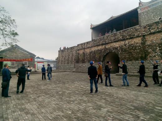 Courtyard at Dapeng Ancient Fortress