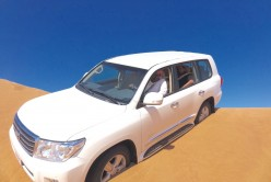The Desert Beckons: Lovely Sands, Dunes, Land Cruiser and Belly Dancing Girls