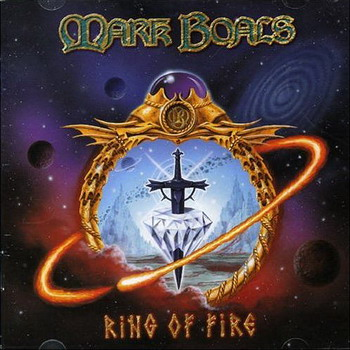 The album cover shows a ring of fire surrounding an orb that has a sword in it. Even better than the album cover are the songs themselves.
