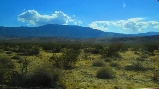 The Lucerne Valley is slightly arid, but has chaparral  and creosote brush as well.