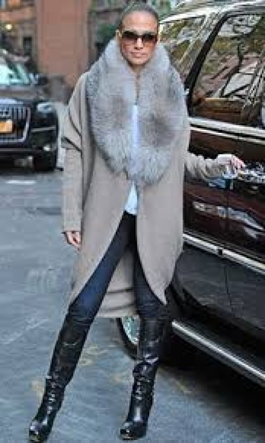 This is J-Lo not me! I have the creme style colored jacket! Awesome!