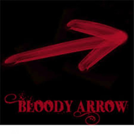 Oh my! The arrow on the Superbowl Beyonce dance routine The Lord spoke loud to me about this arrow!