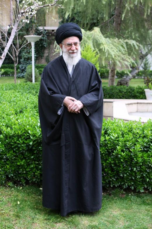 Ayatollah Khamenei.