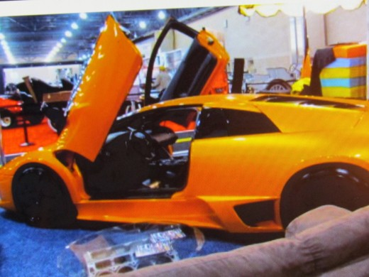 Such cars as McLaren 570S Coupe was featured at the auto-show.