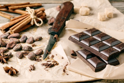 Dark Chocolate Is One Of The Superfoods For The Paleo Diet Plan