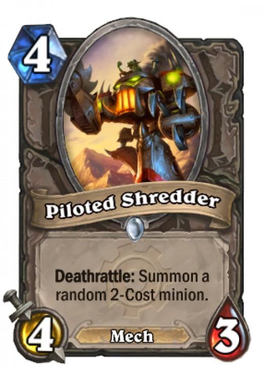 Piloted Shredder