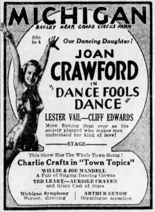 Detroit Free Press, February 14, 1931