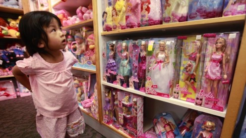 The modern-day Barbie aisle