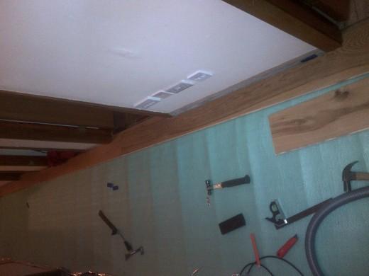Third plank laid