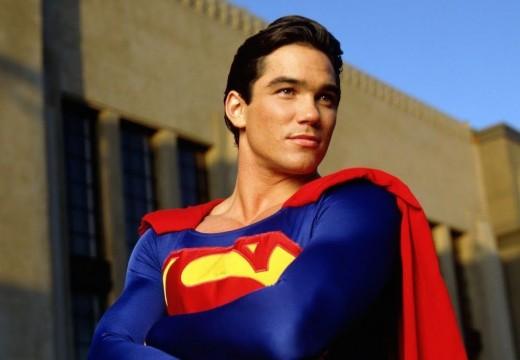 "Dean Cain as Superman on ""Lois & Clark: The New Adventures of Superman"""