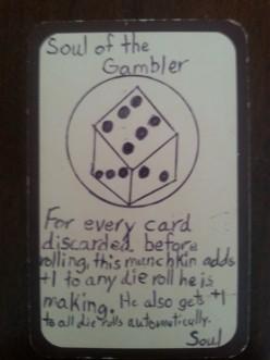 Custom Card Ideas: Soul of the Gambler