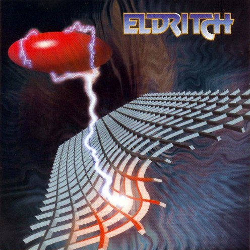Eldritch started the decade of the 1990's on such a high note that you could say they really came out making an excellent album. The cover symbolizes the band's outstanding start to their career.