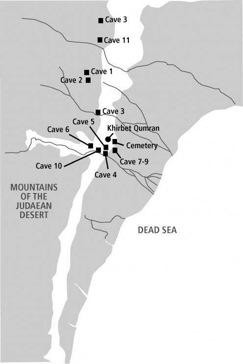 Map of Caves