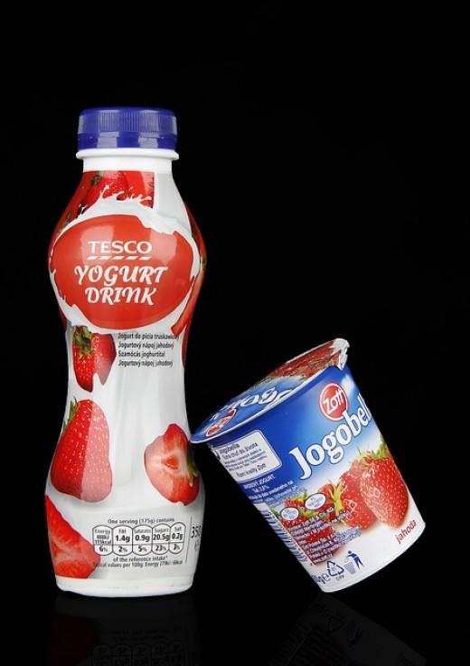 Yogurt's Lactic Acid Is A Good Skin Softener