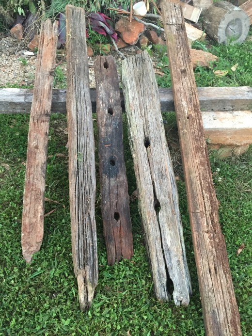 Old Wooden Beams
