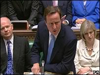 Cameron Who Has Presided Over Cuts During His Tenure In 10 Downing Street.