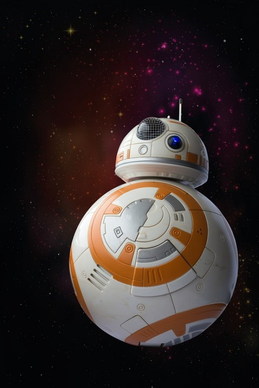 BB 8 Droid Lost In Space