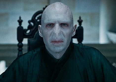 Lord Voldemort makes a scary, but great, movie Halloween costume idea.