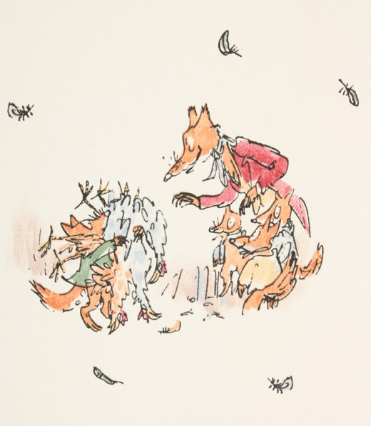 Mr Fox and his cubs