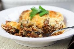 Lamb and Aubergine Moussaka