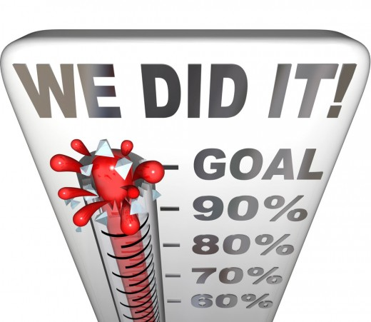 Set a goal and make it public!