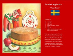 How to Bake A Scrumptious Swedish Apple Cake (Appelkaka)