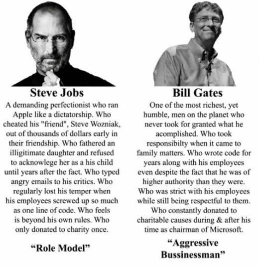 Jobs vs.Gates