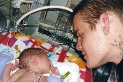 Only the sound of her loving daddy's voice could calm Scarlett's fretting in the NICU.
