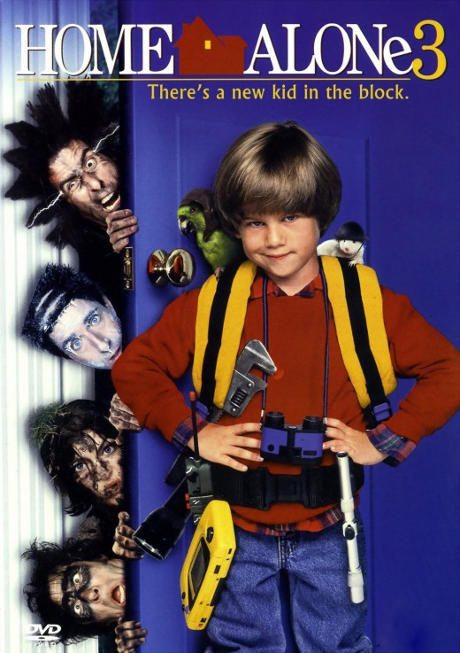 "DVD cover for ""Home Alone 3"""