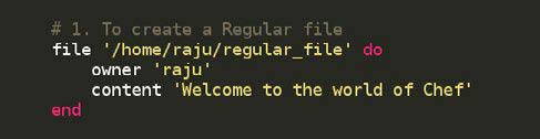 Figure 3.1: Code for file creation
