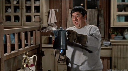 Buddy Hackett is on fine form as Herbie's mechanic Tennessee