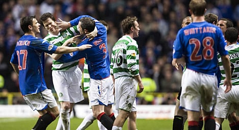 Tensions boil over during an Old Firm fixture