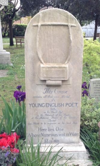 Keats' Tombstone