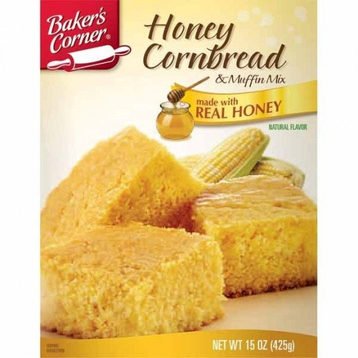 If you shop at Aldi and are southern enough to occasionally eat cornbread in milk, this is amazing.  It's evidently a generic version of a Krusteaz product.